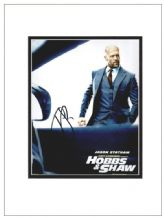 Jason Statham Autograph Signed Photo